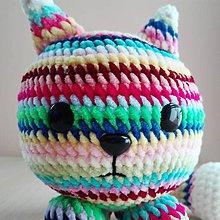 Hračky - Tučná mačka Pamfília - 10192517_