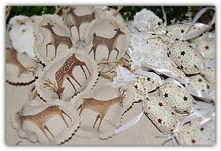 Dekorácie - Vianočné ozdoby - vidiecke vianoce - sada č. 3 - 10197282_