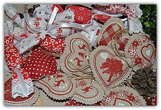 Dekorácie - Vianočné ozdoby - vidiecke vianoce - sada č. 2 - 10197346_