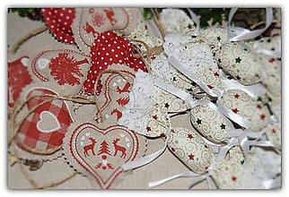 Dekorácie - Vianočné ozdoby - vidiecke vianoce - sada č.27 - 10197406_
