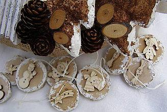Dekorácie - brezové lupienky - 10195216_