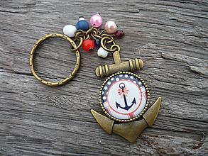 Kľúčenky - ZĽAVA - VÝPREDAJ :) Kľúčenka Námornícka...Sweet Navy - 10198814_