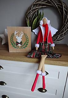 Bábiky - Vianočná anjelka - 10196503_