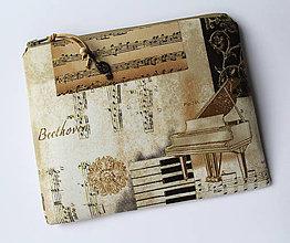 Taštičky - Symfónia - SAShEnka no. 178 - taštička do kabelky - 10196814_