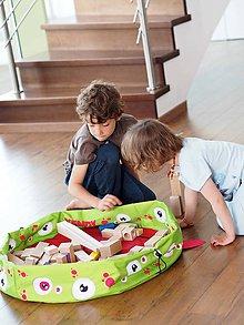 """Detské tašky - Vak na hračky a LEGO® kocky Xendy """"L"""" - 10195698_"""