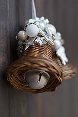 Dekorácie - Malý dvojzvonček - 10197748_