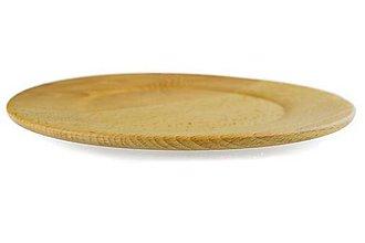 Nádoby - Doplnky do kuchyne drevený tanier - 10195902_