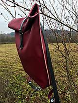 Batohy - kožený batoh_ - 10196000_