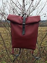 Batohy - kožený batoh_ - 10196040_
