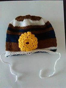 Detské čiapky - Pre novorodenca..... - 10195948_
