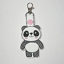 Kľúčenky - Prívesok panda - 10197674_