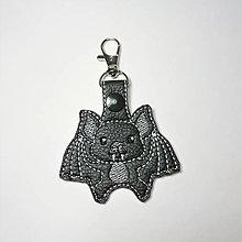 Kľúčenky - Prívesok netopier - 10198139_