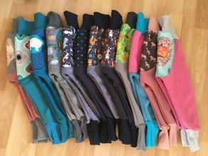 Detské oblečenie - Softshellky skladovky v. 98 - 10195626_