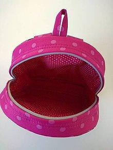 Detské tašky - Detský nepremokavý ruksak/batoh - šedoružový - 10195224_
