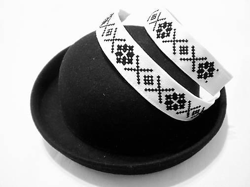52c2db66d Vyšívaná stuha na klobúk / SERISH - SAShE.sk - Handmade Iné doplnky