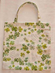 Nákupné tašky - Taška - štvorlístok - 10197888_