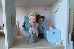 Hračky - Rodinný domček pre bábiky - 10196445_