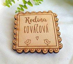 Tabuľky - Menovka . Bird - 10197511_