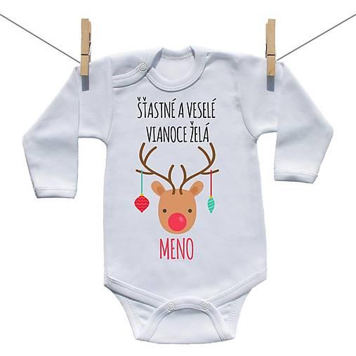 ac2de1a37c1e Originálne body Šťastné a veselé Vianoce želá s menom dieťatka ...