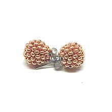 Sady šperkov - Set Petit v drevenej darčekovej kazete (Rosegold) - 10197912_
