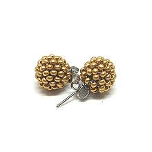 Sady šperkov - Set Petit v drevenej darčekovej kazete (Matná béžová) - 10197931_