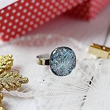 Prstene - Elegantný trblietavý prsteň - 10197639_