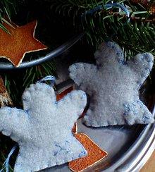 Dekorácie - vianočná ozdoba - anjelik - 10196036_
