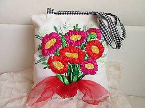 Veľké tašky - Kytica - 10198988_