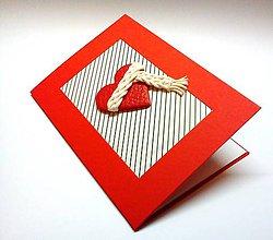 Papiernictvo - Pohľadnica ... Uzimené ♥ - 10202194_