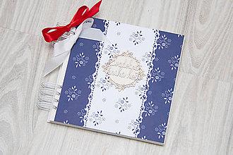 Papiernictvo - Folklórna svadobná kniha hostí - 10200440_