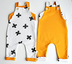 Detské oblečenie - Obojstranný overal - 10203542_
