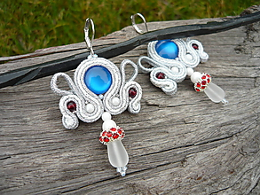Náušnice - Soutache náušnice Luxury Folk - 10200025_