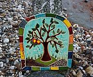 Strom s jablkom - obraz