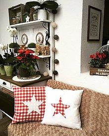Úžitkový textil - Vianočné duo vankúšov - 10199245_