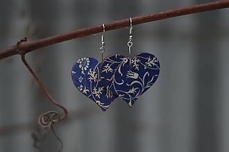 """Náušnice - Náušnice """"krása modrotlače"""" - 10202405_"""