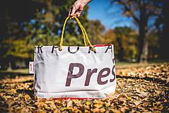 Veľké tašky - Úsmev ako dar - DORKA bag (Červený tím) - 10201985_