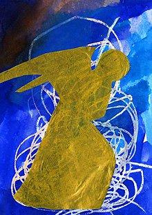 Papier - Andreas: Pohľadnice Vianoce  (Anjel) - 10199376_