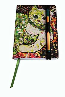 Drobnosti - Andreas: Zápisník (Zelená) - 10201898_
