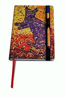 Drobnosti - Andreas: Zápisník (Fialová) - 10201906_