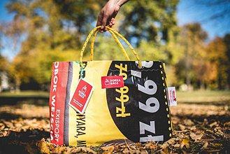 Veľké tašky - Úsmev ako dar - DORKA bag (Akciová taška) - 10201967_