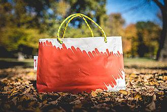 Veľké tašky - Úsmev ako dar - DORKA bag (Čistá komunikácia) - 10201990_