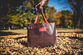 Veľké tašky - Úsmev ako dar - DORKA bag (Čokoládová desiata) - 10202000_