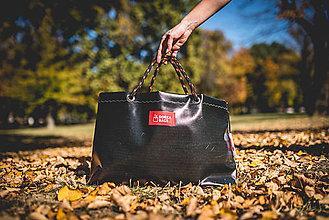Veľké tašky - Úsmev ako dar - DORKA bag (Elegantná čierna) - 10202008_