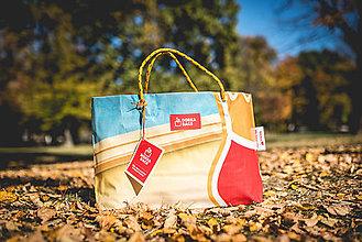 Veľké tašky - Úsmev ako dar - DORKA bag (Farebná) - 10202012_