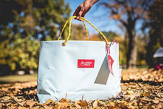 Veľké tašky - Úsmev ako dar - DORKA bag (Hnedý mrak) - 10202018_