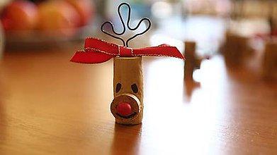 Dekorácie - Usmej sa na mňa: neVínny Rudolf - 10202110_