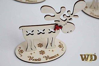 Dekorácie - Vianočný sob - 10203224_