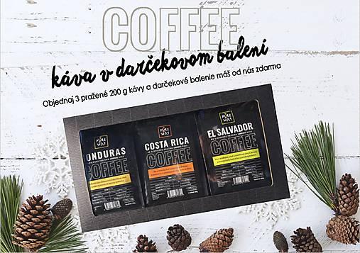 Káva v darčekovom balení
