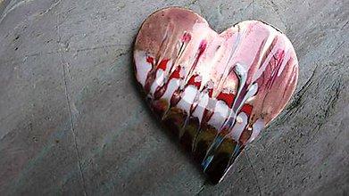 Odznaky/Brošne - Srdce - 10201657_