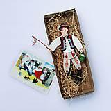Hračky - Pohyblivá hračka v slovenských krojoch - I (Kúpač) - 10199907_